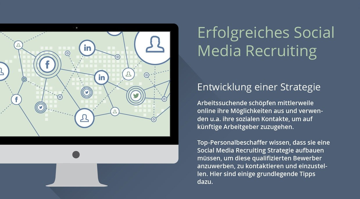Image Erfolreiches-Social-Media-Recruiting-Infografik