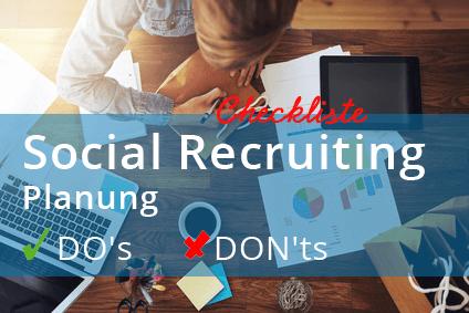 Image Social-Recruiting-Planung