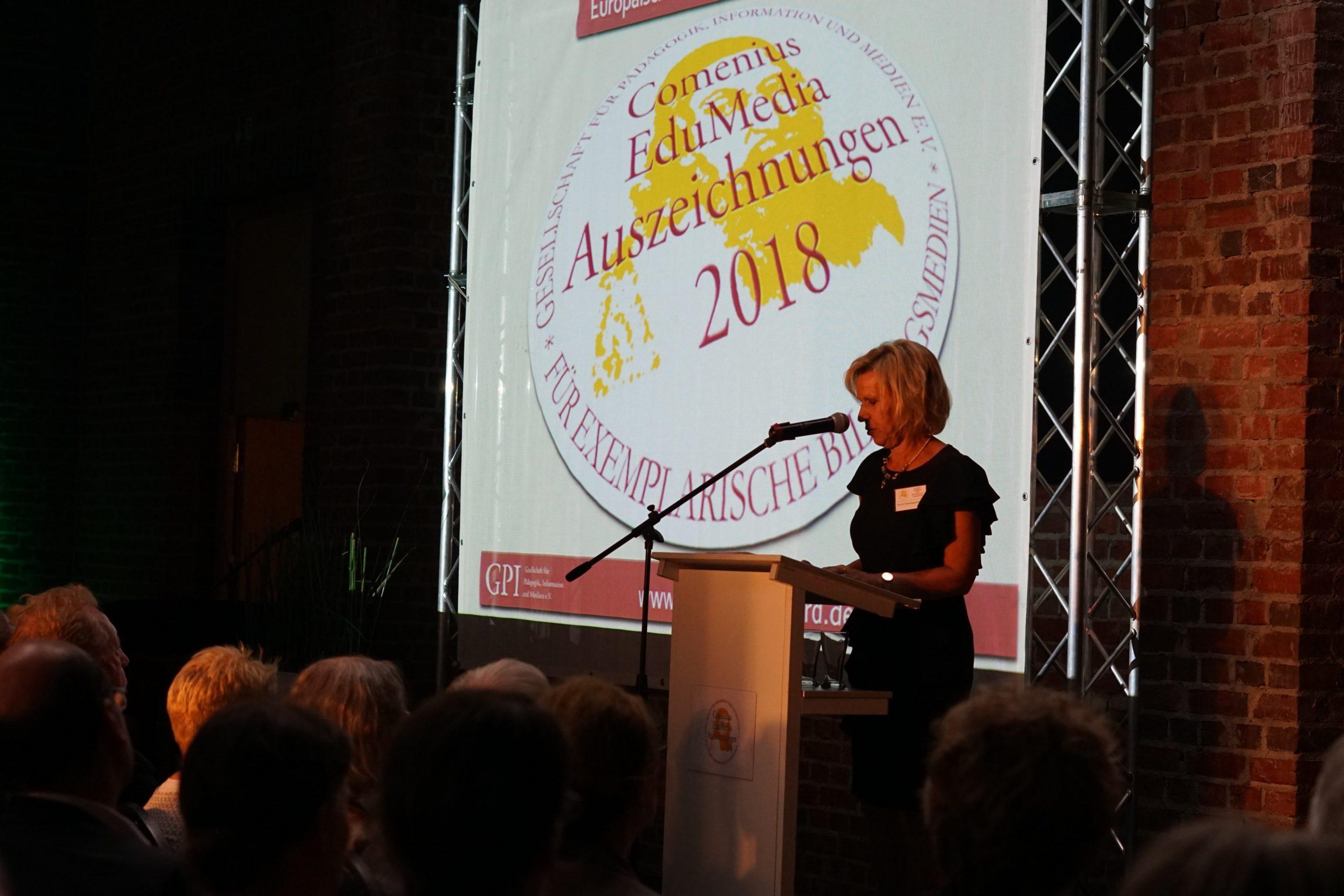 Comenius Auszeichnung Rede