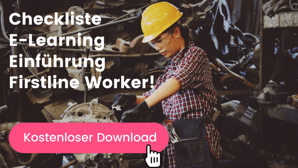 Checkliste E-Learning Firstline Worker