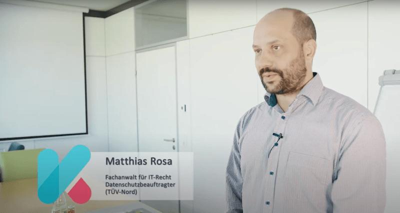 Datenschutzschulung für Unternehmen – Fragen und Antworten mit Datenschutzexperten Matthias Rosa