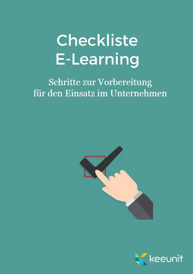 Checkliste-E-Learning Vorbereitung keeunit